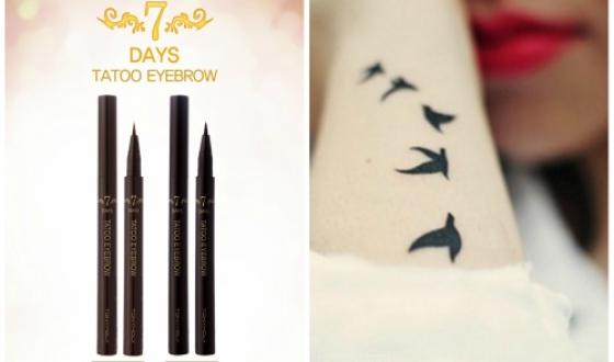 Как сделать временную татуировку карандашом