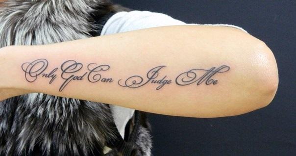Татуировки надписи на руке женские фото