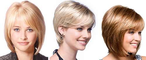 Стрижки женские лицо круглое